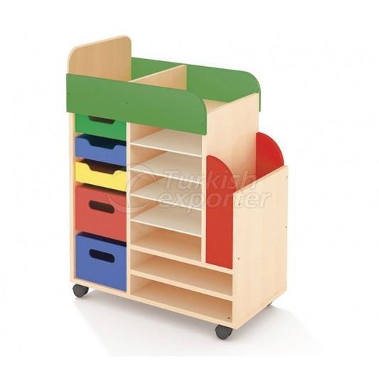 Colorful Art Cabinet RDG009