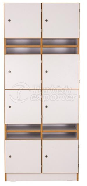 Cabinets With 8 Doors 8 Shelves