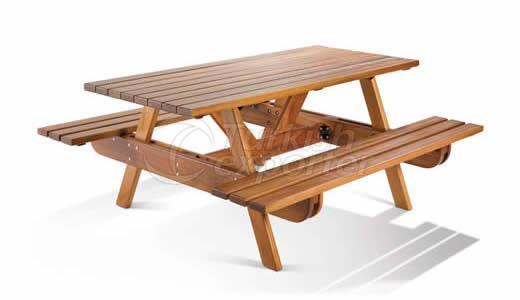 Wooden Garden Table BM003