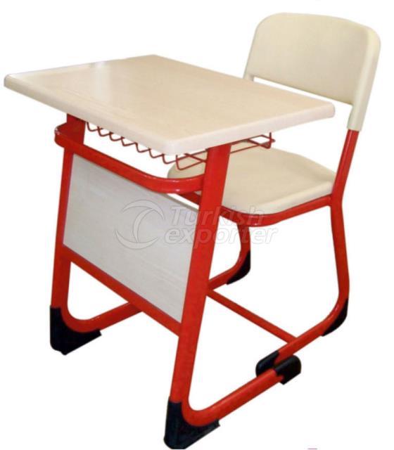 Single School Desk CT001