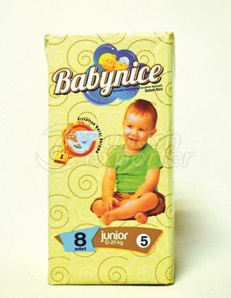 Baby Diaper BABYNICE 5 JUNIOR Small Pack
