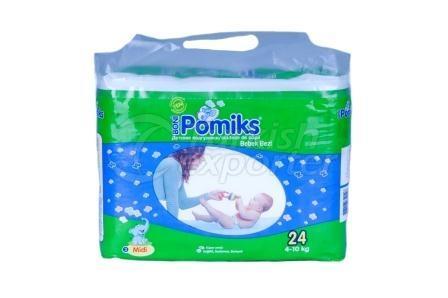 Baby Diaper POMIKS 3 MIDI ECO