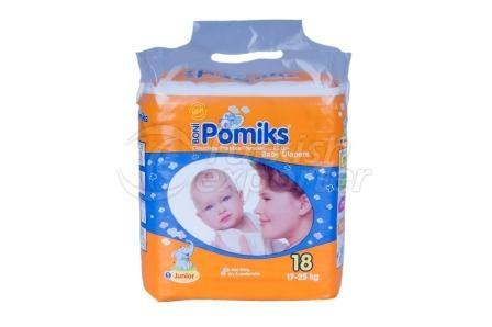 Baby Diaper POMIKS 5 JUNIOR EKO