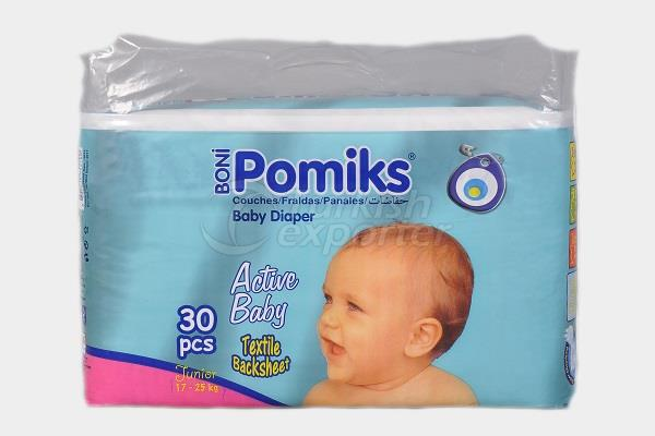Baby Diaper POMIKS ACTIVE 5 JUNIOR