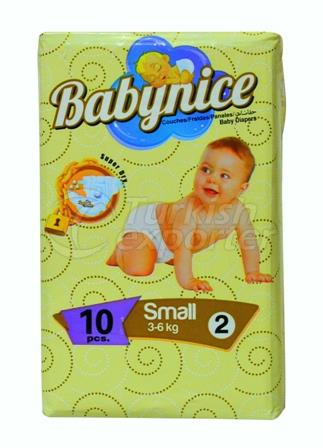 Baby Diaper BABYNICE 2 Mini Small Pack