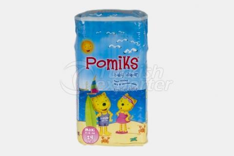 Baby Diaper POMIKS 4 MAXI ECO