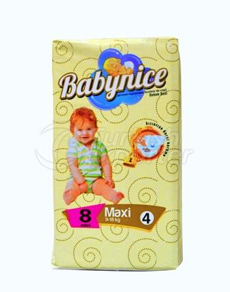 Baby Diaper BABYNICE 4 Maxi Small Pack