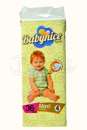 Baby Diaper BABYNICE 4 Maxi Eco Pack