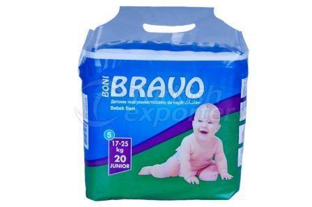 Baby Diaper BRAVO 5 JUNIOR