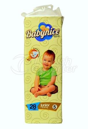 Baby Diapar BABYNICE 5 Junior Eco Pack