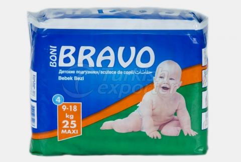 Baby Diaper BRAVO 4 MAXI
