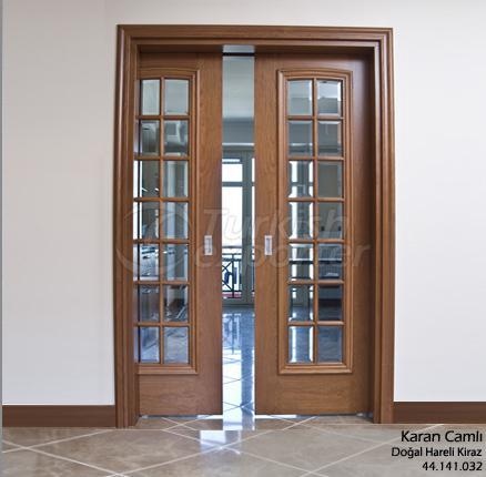 Wooden Door Karan 14-Glass