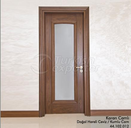 Wooden Door Karan Glazed