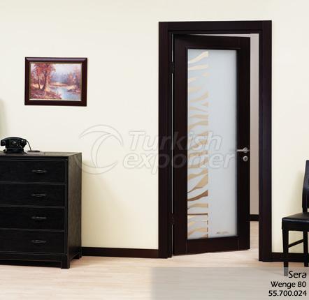Wooden Door Sera Glazed