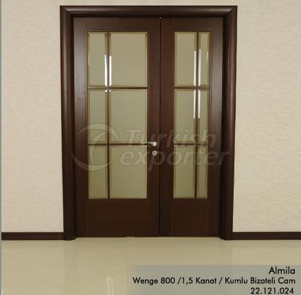 Wooden Door Almila Glazed