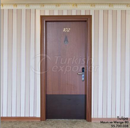 Wooden Door Tulipa