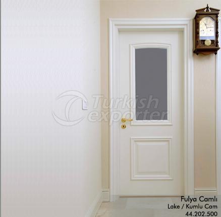 Wooden Door Fulya Glazed
