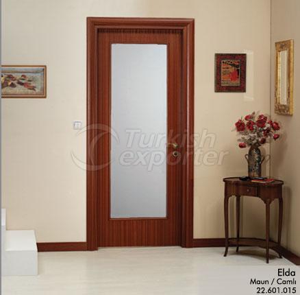 Wooden Door Elda Glazed