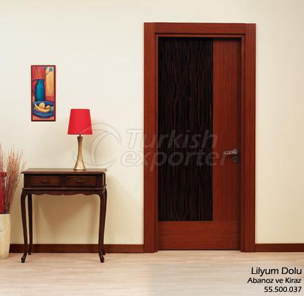 Wooden Door Lilyum