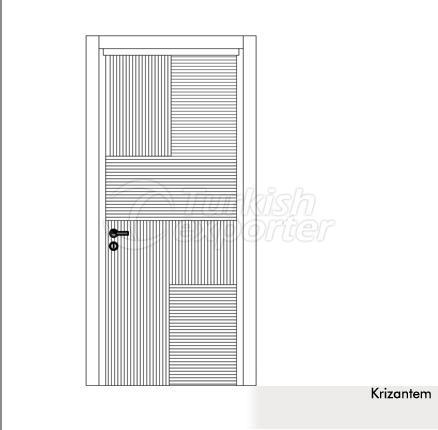 Wooden Door Krizantem