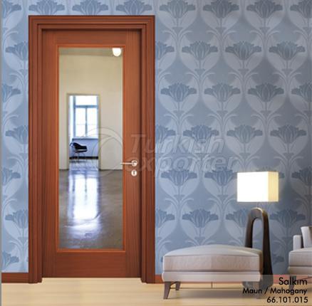 Wooden Door Salkım Glazed