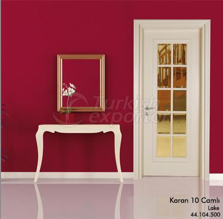 Wooden Door Karan 10-Glass