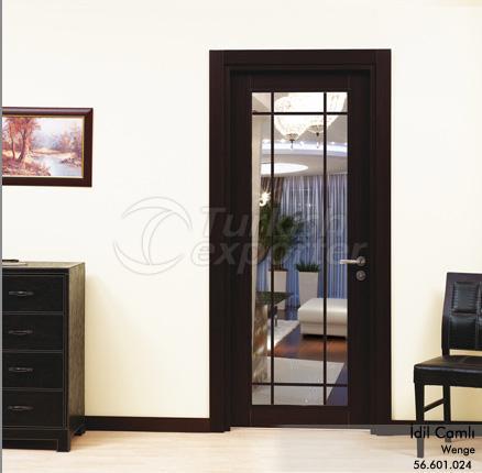Wooden Door Idil Glazed