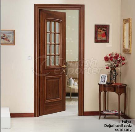Wooden Door Fulya 12-Glass
