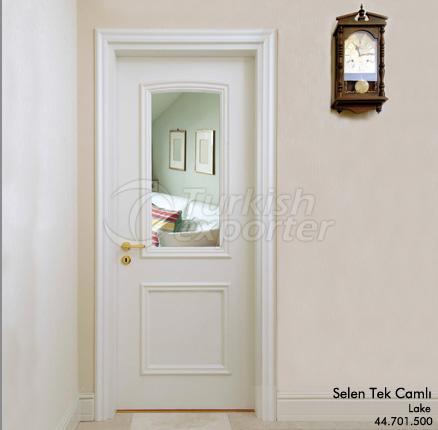 Wooden Door Selen One Glassed
