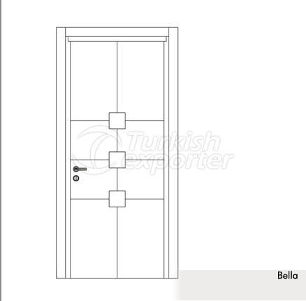 Wooden Door Bella