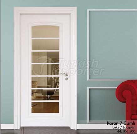 Wooden Door Karan 7-Glass
