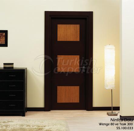 Wooden Door Ninfea