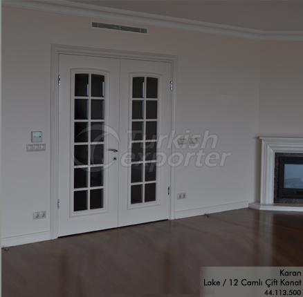 Wooden Door Karan 12-Glass