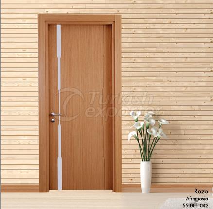 Wooden Door Rose