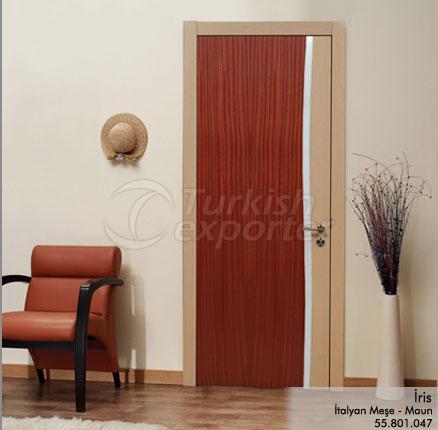 Wooden Door Iris