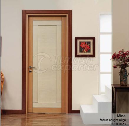 Wooden Door Mina
