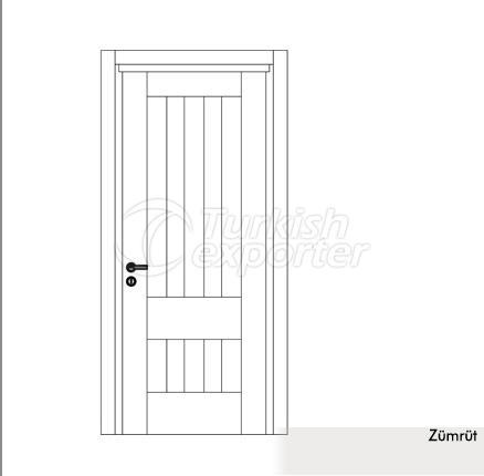 Wooden Door Zümrüt