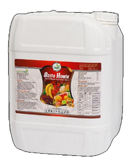 Organic Liquid Fertilizer BESTO HUMIC