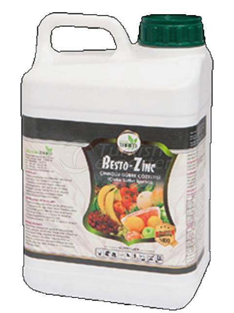 Trace Element Liquid Fertilizer BESTO–ZINC