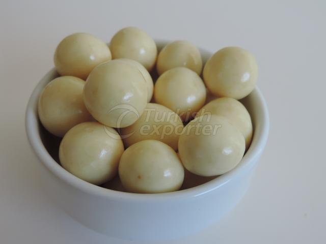White Chocolate  Hazelnuts
