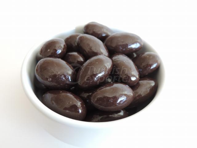 Bitter Chocolate  Almonds