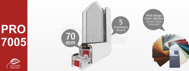 PRO7005 Series PVC Profiles