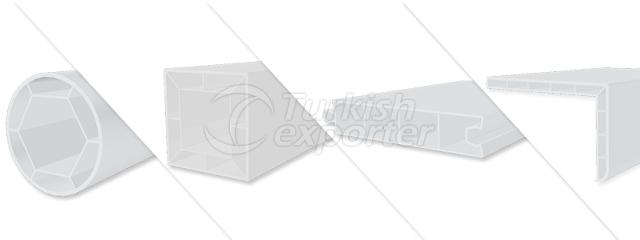 Auxiliary PVC Profiles