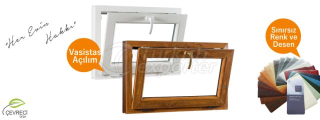Transom PVC Windows