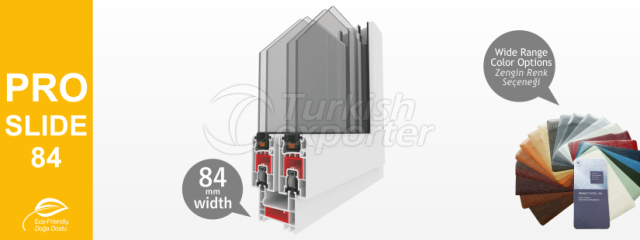 PROSLIDE-84 Series PVC Profiles