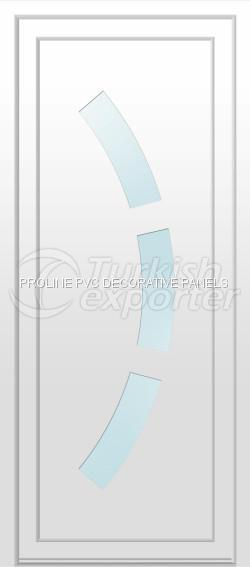 Flat PVC Door Panels 10007
