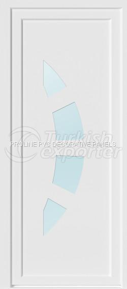 Flat PVC Door Panels 10002