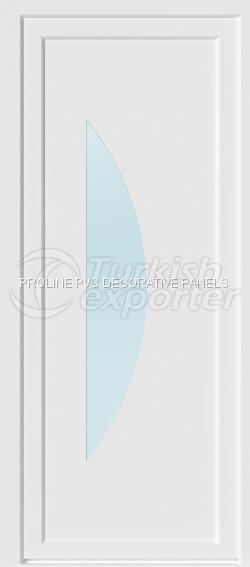 Flat PVC Door Panels 10004