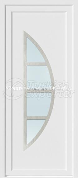 Inox PVC Door Panels 20006