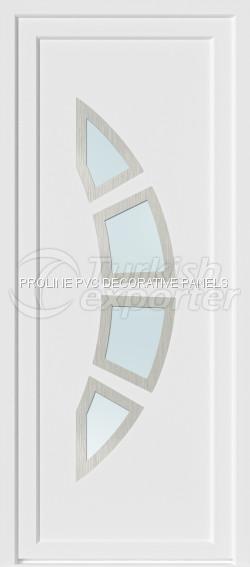 Inox PVC Door Panels 20002